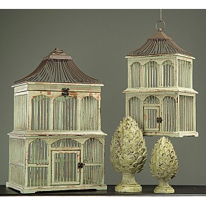 Bird Cage in wood
