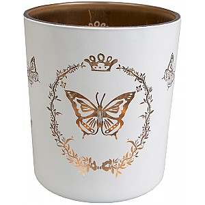 Candle Holder Butterfly Motif