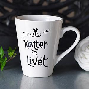Mug Katter är livet