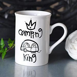Becher kampierender König