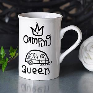 Tasse Kampierende Königin