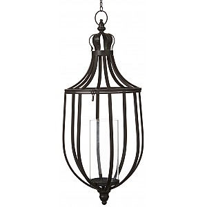 Hanging Candle Holder Torun Antique Black - Large