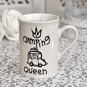 Tasse Kampierender Königin-Reisemobil