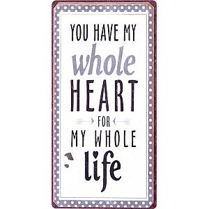 Magnet Sie haben mein ganzes Herz für mein ganzes Leben