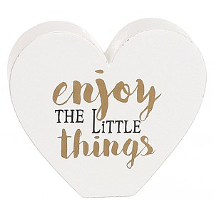 Heart Enjoy the little things