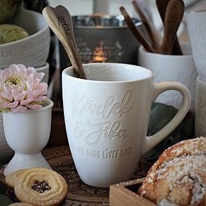Majas Kaffemugg Kärlek & Fika