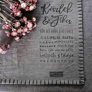 Majas Bordstablett Kärlek & Fika