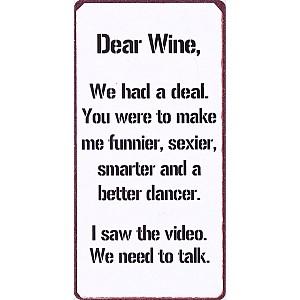 Magnet Dear Wine