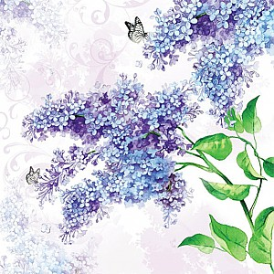 Servetter Lilac