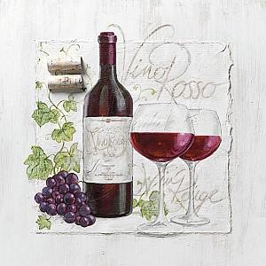 Napkins Vino Rosso