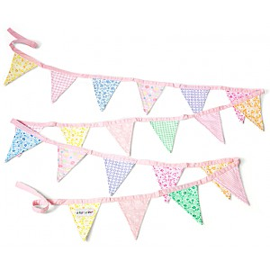 Pennant Banner Pink