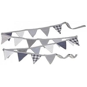 Pennant Banner Grey