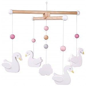 JaBaDaBaDo Baby Mobile Swan