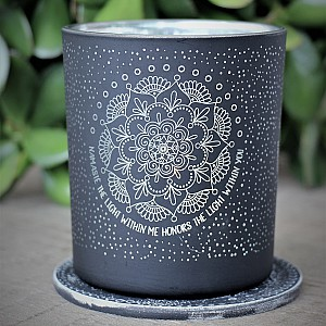 Majas Candle Holder Namaste Mandala