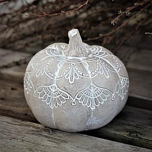Majas Pumpkin Mandala Whitewash