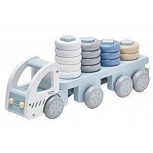 Kids Concept Stacking Ring Truck