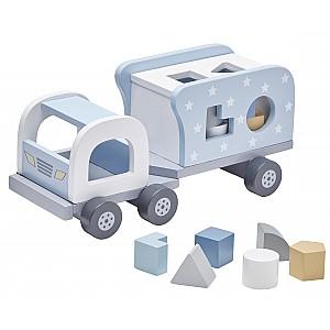 Kids Concept Block Sorter Truck