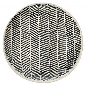 Side Plate Astrid Striped