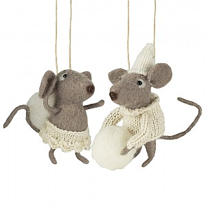 Dwarf Mice set of 2