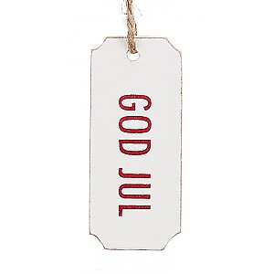 Gift Tag God Jul