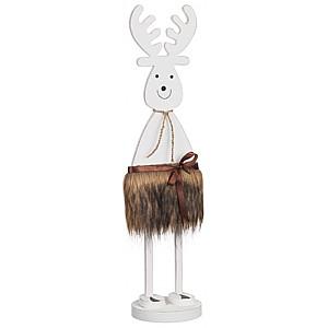Standing Wooden Reindeer