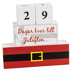 Wooden Calendar Christmas