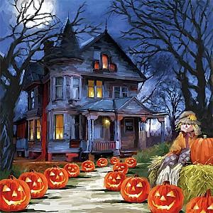 Napkins Spooky