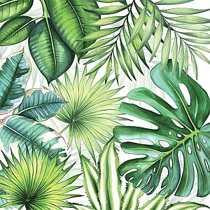 Napkins Tropical Leaves