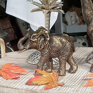 Ljusstake Elefant
