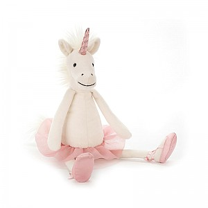 Jellycat Dancing Darcey Unicorn - Small