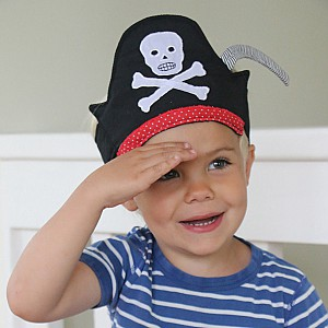 Fabric Pirate Hat