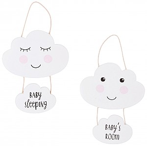 Sweet Dreams Cloud Baby's Room Plaque
