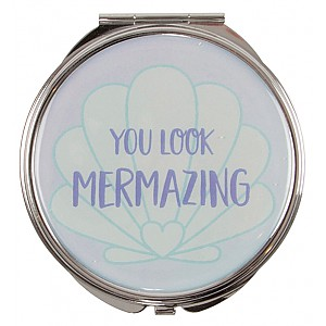 Mermaid Treasures Pocket Mirror