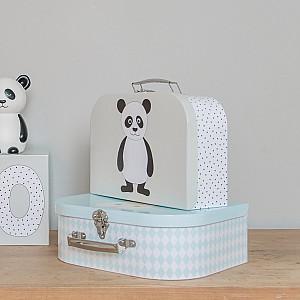JaBaDaBaDo Cardboard Bag Penguin & Panda