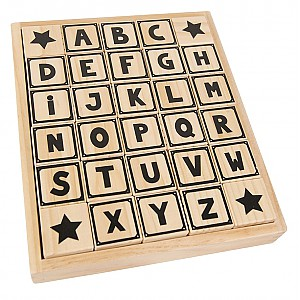 JaBaDaBaDo Wooden Blocks ABC