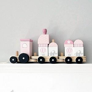 JaBaDaBaDo Tåg med klossar