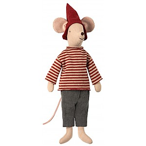 Maileg Medium Christmas Mouse