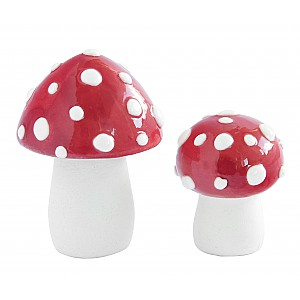 Ceramic Fly Agarics