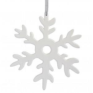 Ceramic Decoration Snowflake