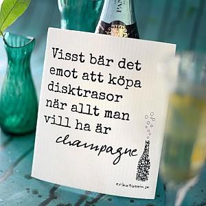 Spültuch Champagner