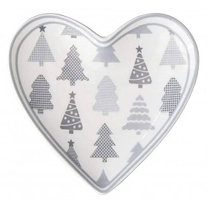 Heart Tray Christmas Trees