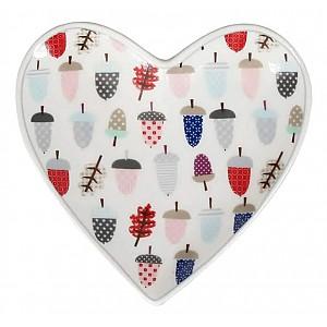 Heart Tray Acorn