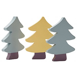 Kids Concept Granar i trä 3-set Edvin