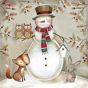 Servetter Woodland Snowman
