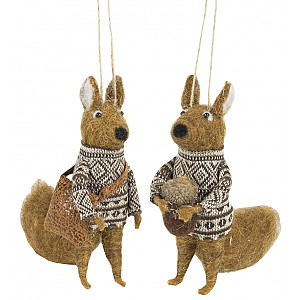 Squirrel set of 2