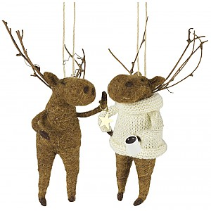 Moose set of 2