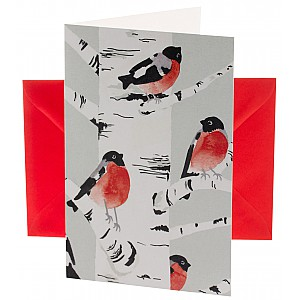 Christmas Card Bullfinch