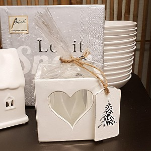 Candle Holder Heart Christmas tree