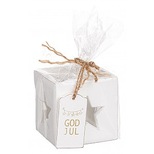 Kerzenhalter Star God Jul