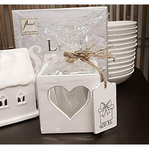 Candle Holder Heart God Jul Gift